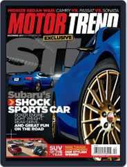 MotorTrend (Digital) Subscription November 8th, 2011 Issue