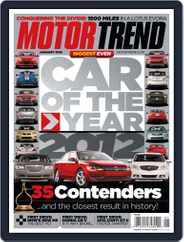 MotorTrend (Digital) Subscription December 6th, 2011 Issue
