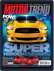 MotorTrend (Digital) Subscription January 4th, 2012 Issue