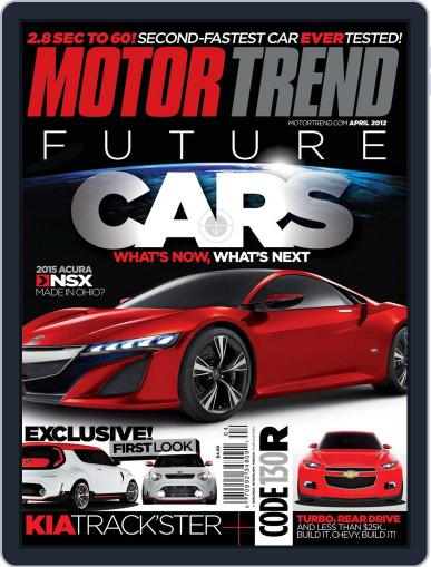 MotorTrend February 28th, 2012 Digital Back Issue Cover