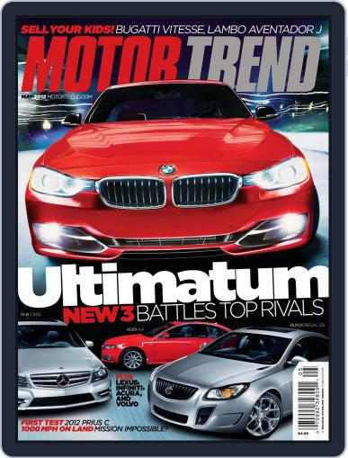 MotorTrend March 27th, 2012 Digital Back Issue Cover