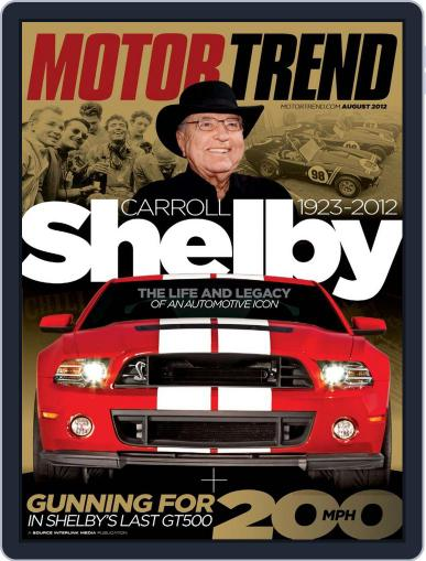 MotorTrend June 26th, 2012 Digital Back Issue Cover