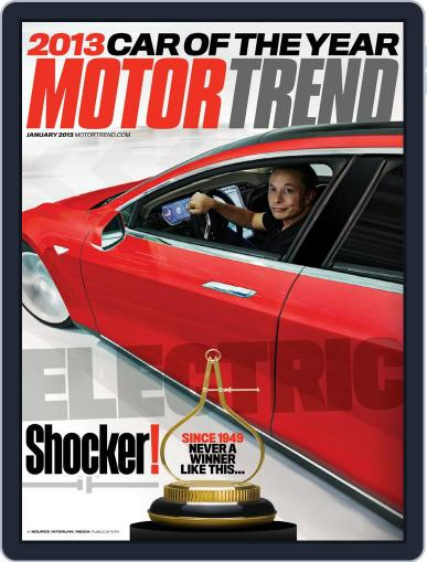 MotorTrend November 27th, 2012 Digital Back Issue Cover