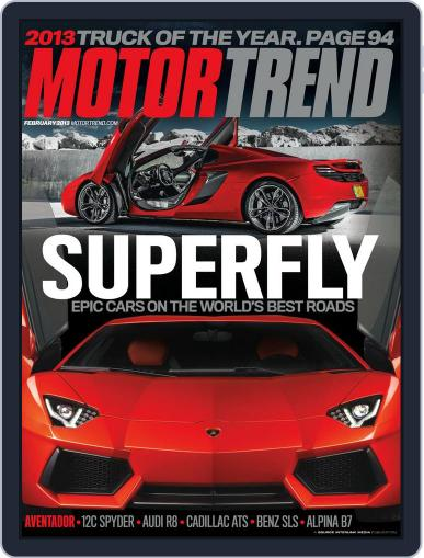 MotorTrend December 25th, 2012 Digital Back Issue Cover
