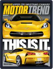 MotorTrend (Digital) Subscription January 29th, 2013 Issue