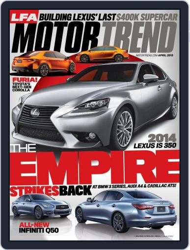MotorTrend February 26th, 2013 Digital Back Issue Cover