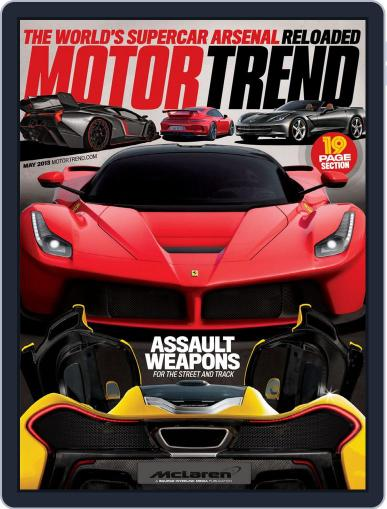 MotorTrend March 27th, 2013 Digital Back Issue Cover