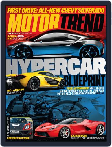 MotorTrend June 25th, 2013 Digital Back Issue Cover