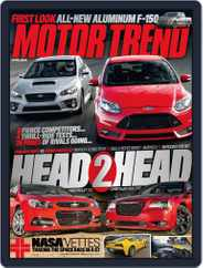 MotorTrend (Digital) Subscription February 21st, 2014 Issue