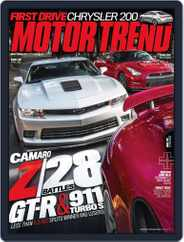 MotorTrend (Digital) Subscription April 4th, 2014 Issue