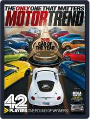 MotorTrend (Digital) Subscription November 28th, 2014 Issue