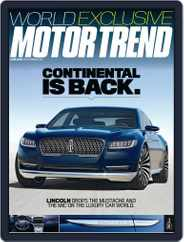 MotorTrend (Digital) Subscription June 1st, 2015 Issue