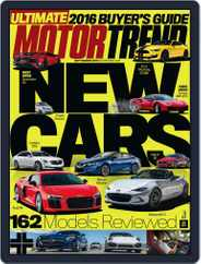 MotorTrend (Digital) Subscription September 1st, 2015 Issue
