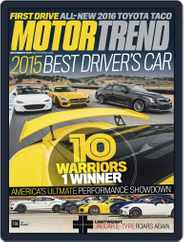MotorTrend (Digital) Subscription November 1st, 2015 Issue
