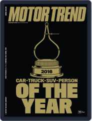 MotorTrend (Digital) Subscription January 1st, 2016 Issue