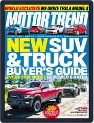 MotorTrend (Digital) Subscription October 1st, 2017 Issue