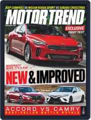 MotorTrend (Digital) Subscription December 1st, 2017 Issue
