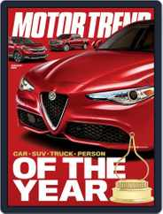 MotorTrend (Digital) Subscription January 1st, 2018 Issue