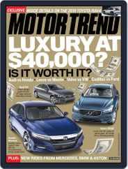MotorTrend (Digital) Subscription June 1st, 2018 Issue