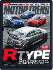 MotorTrend (Digital) Subscription August 1st, 2018 Issue