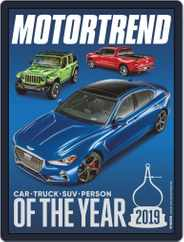 MotorTrend (Digital) Subscription January 1st, 2019 Issue