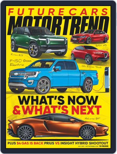 MotorTrend July 1st, 2019 Digital Back Issue Cover