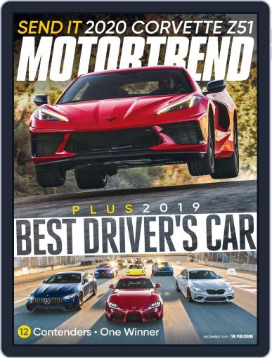MotorTrend December 1st, 2019 Digital Back Issue Cover