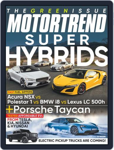 MotorTrend April 1st, 2020 Digital Back Issue Cover
