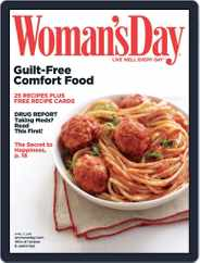 Woman's Day (Digital) Subscription March 16th, 2010 Issue