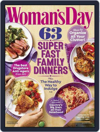 Woman's Day September 1st, 2019 Digital Back Issue Cover
