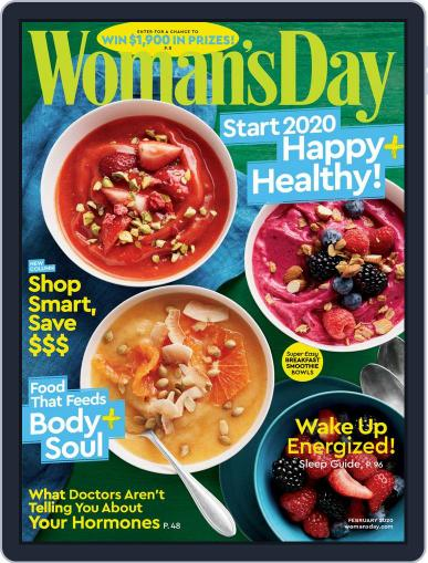 Woman's Day February 1st, 2020 Digital Back Issue Cover