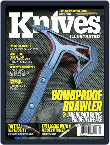 Knives Illustrated March 1st, 2018 Digital Back Issue Cover