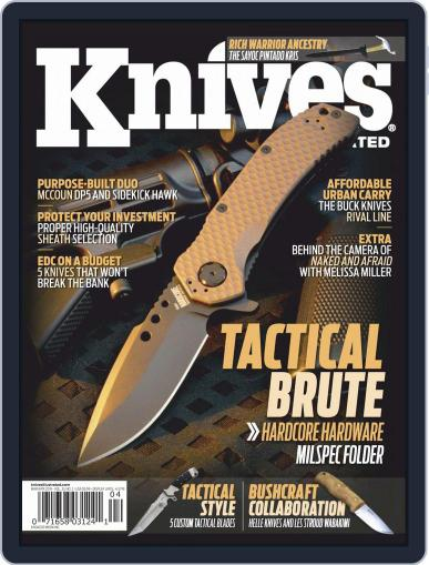 Knives Illustrated March 1st, 2019 Digital Back Issue Cover