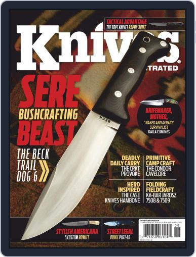 Knives Illustrated July 1st, 2019 Digital Back Issue Cover