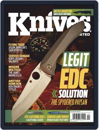 Knives Illustrated September 1st, 2019 Digital Back Issue Cover