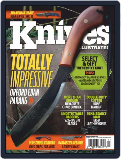 Knives Illustrated December 1st, 2019 Digital Back Issue Cover