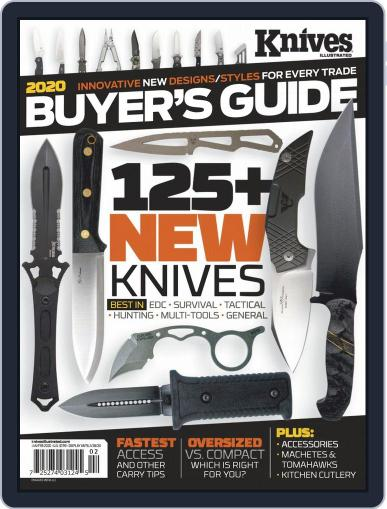Knives Illustrated January 1st, 2020 Digital Back Issue Cover