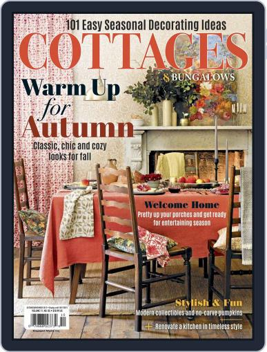Cottages and Bungalows October 1st, 2017 Digital Back Issue Cover