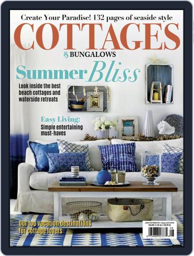 Cottages and Bungalows August 1st, 2018 Digital Back Issue Cover