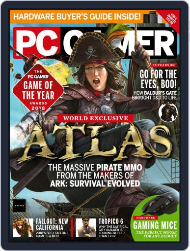 PC Gamer (US Edition) February 1st, 2019 Digital Back Issue Cover