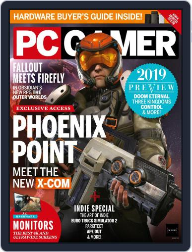 PC Gamer (US Edition) March 1st, 2019 Digital Back Issue Cover