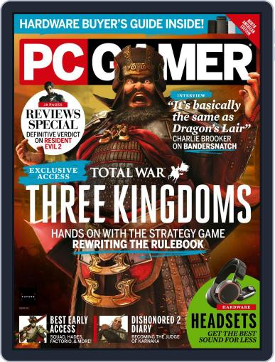 PC Gamer (US Edition) April 1st, 2019 Digital Back Issue Cover