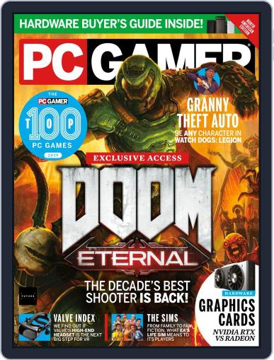 PC Gamer (US Edition) October 1st, 2019 Digital Back Issue Cover