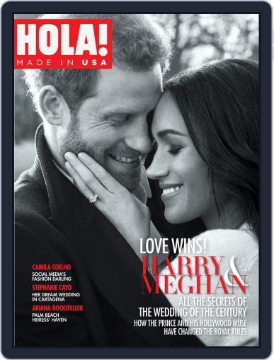 HOLA! MADE IN USA April 1st, 2018 Digital Back Issue Cover