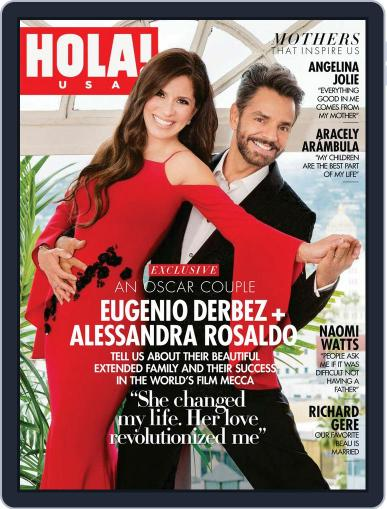 HOLA! MADE IN USA May 1st, 2018 Digital Back Issue Cover