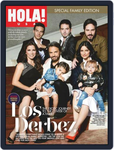 HOLA! MADE IN USA November 1st, 2019 Digital Back Issue Cover