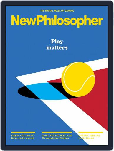 New Philosopher May 1st, 2018 Digital Back Issue Cover