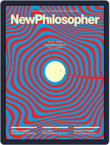 New Philosopher November 1st, 2019 Digital Back Issue Cover
