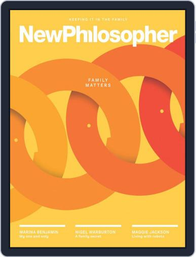 New Philosopher January 1st, 2020 Digital Back Issue Cover