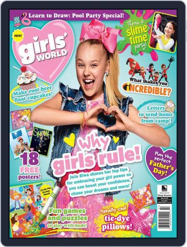 Girls' World July 1st, 2018 Digital Back Issue Cover